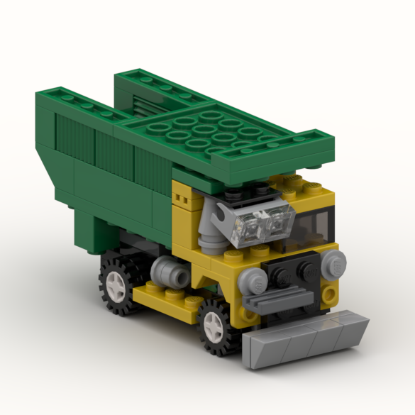 Haul truck, an alternate model of set 20011