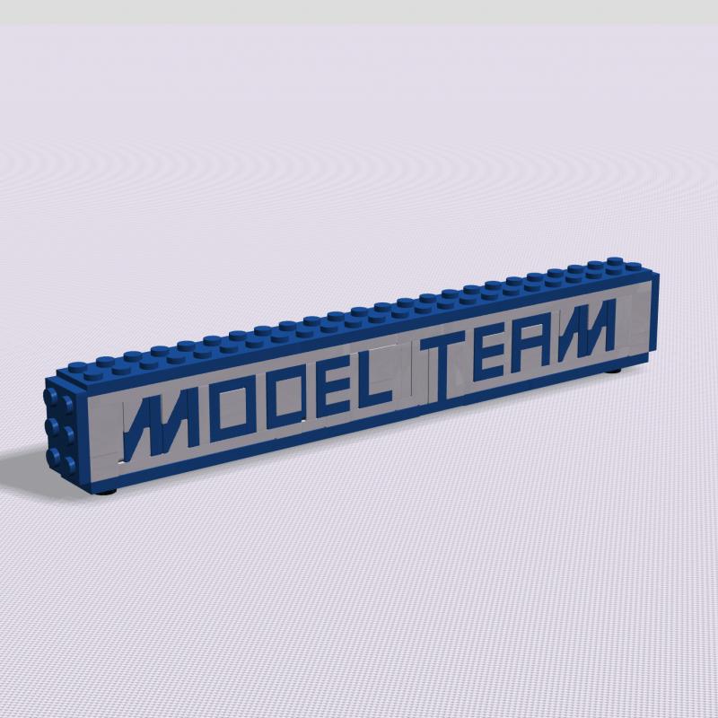 Model Team Logo