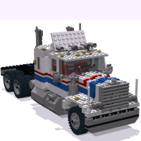 5580 Model Team Highway Rig from 1990 with new standard coupling