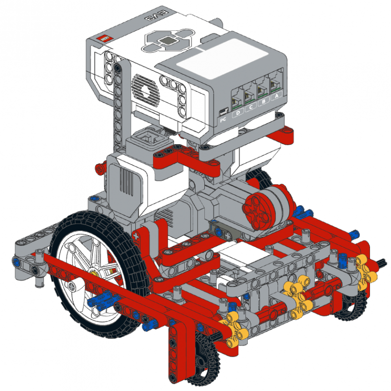 FLL solving robot prototype 2