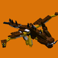 Dragon, an alternate model of set 31004