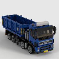 Volvo FM 8x2 Container Transport